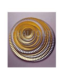 Board Plates - gold/silver