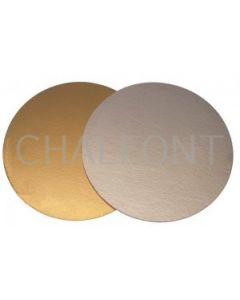Gold/silver cake boards