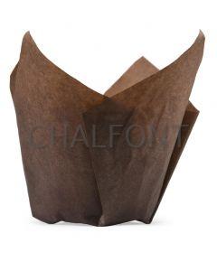 Tulip cases - Brown Greaseproof