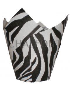 Tulip cases - Zebra Design